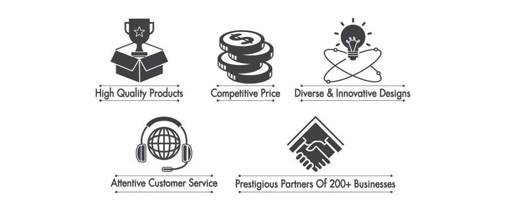 5 lý do chọn mua sản phẩm tại Minh Khang Trading