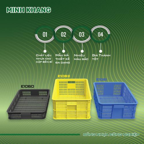 sóng nhựa hở công nghiệp