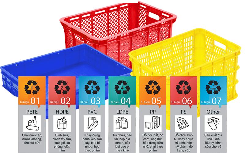 chất liệu sản xuất sóng nhựa