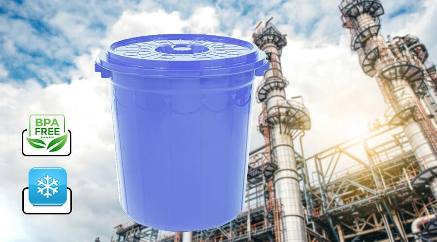 thùng nhựa đựng nước có chất liệu nhựa an toàn khi sử dụng