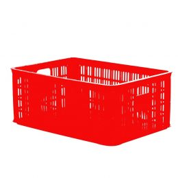 Perforated plastic crate 2T5