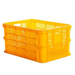 Perforated plastic crate 3T1