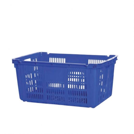 plastic crate without handle