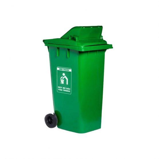 thùng rác nắp hở 240L