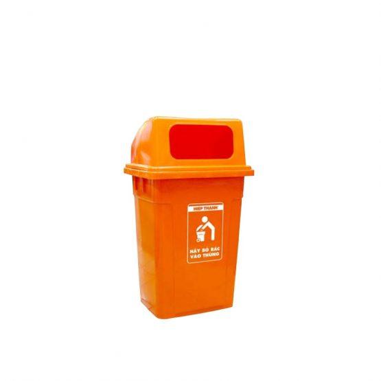 thùng rác nắp hở 90L