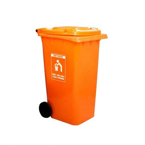 thùng rác nắp kín 240l