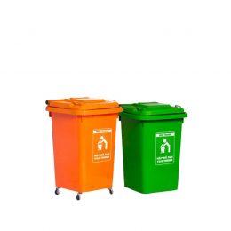 thùng rác nắp kín 60l